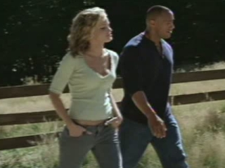 WALKING TALL SCENE: CHRIS AND DENI