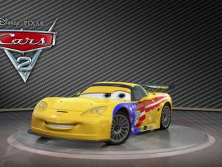 Cars 2: Showroom Turntable Jeff Gorvette