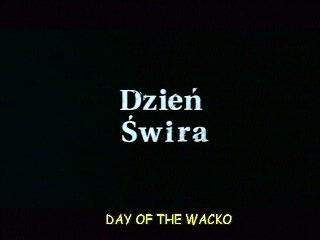 Day Of The Wacko