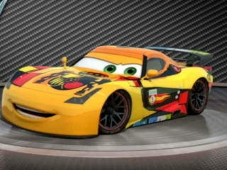 Cars 2 showroom turntable miguel camino clip 2011 video detective - Coloriage cars 2 miguel camino ...