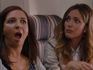 Bridesmaids: Annie Talks To Lillian And Helen In First Class