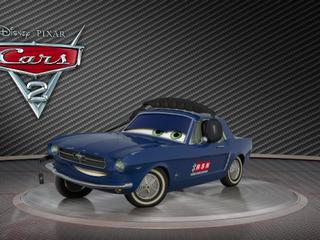 Cars 2: Showroom Turntable Brent Mustangburger