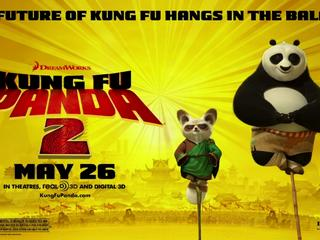 Kung Fu Panda 2 Horizontal Motion Poster