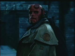 HELLBOY SCENE: CRUMBLING BRIDGE ESCAPE