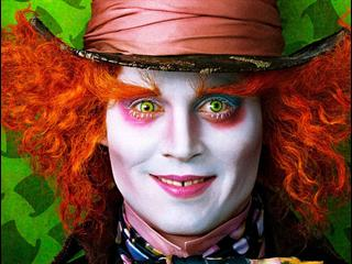 mad hatter di alice in wonderland