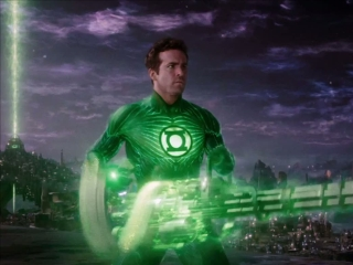 Green Lantern Discovering Planet Oa Uk - Green Lantern - Flixster Video