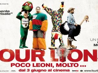 FOUR LIONS (ITALIAN)