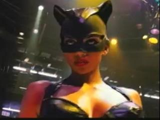 Catwoman Scene Cat Got Your Tongue