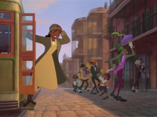 THE PRINCESS AND THE FROG (ITALIAN)