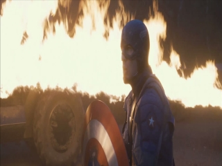 Captain America The First Avenger Shield Fight