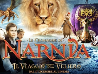 THE CHRONICLES OF NARNIA: THE VOYAGE OF THE DAWN TREADER (ITALIAN)