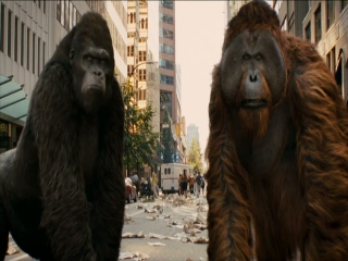Rise Of The Planet Of The Apes San Francisco Rampage