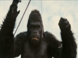 Rise Of The Planet Of The Apes Mounted Attack