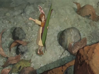 Arrietty Escaping The Cat Uk - The Secret World of Arrietty - Flixster Video