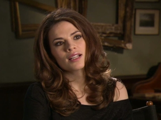 Captain America The First Avenger Hayley Atwell On Her Character Peggy