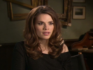 Captain America The First Avenger Hayley Atwell On What Drew Her To The Character Peggy