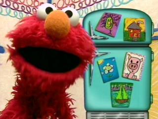 Elmos World Singing Drawing  More
