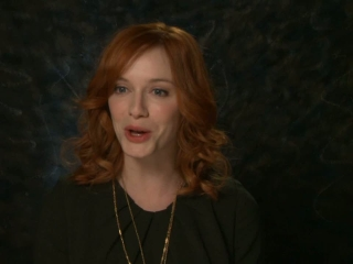 I Dont Know How She Does It Christina Hendricks On Men Being Able To Relate To The Movie