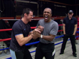 Real Steel Training With Sugar Ray