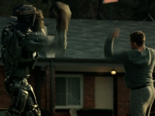 Real Steel Charlie Teaches Atom To Box - Real Steel - Flixster Video