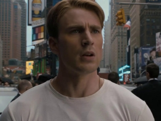 Captain America The First Avenger Times Square