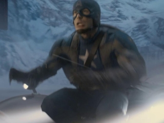 Captain America The First Avenger Plane Jump