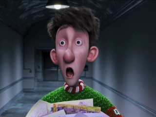 Arthur Christmas Waker Scene