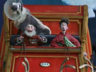 Arthur Christmas Sleigh Montage