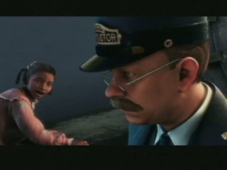 The Polar Express Scene Slow Dawn