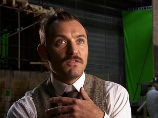 Sherlock Holmes A Game Of Shadows Jude Law On His Character