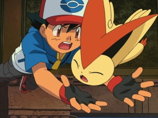 Pokemon The Movie White-victini And Zekrom