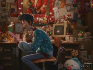 Arthur Christmas Office