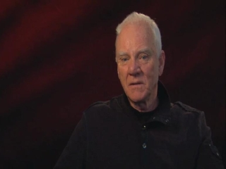 The Artist Malcom Mcdowell On The Films Time Period