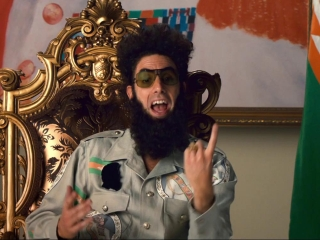 The Dictator Big Game Spot