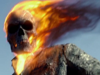Ghost Rider: Spirit Of Vengeance: Ghost Rider & Blackout Road Fight