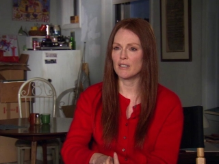 Being Flynn Julianne Moore On Reading The Script - Being Flynn - Flixster Video