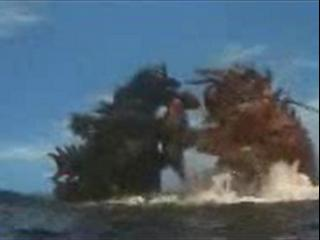 Godzilla Vs The Sea Monster Scene Epic Battle