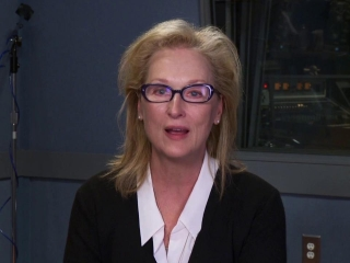 To The Arctic 3d Meryl Streep On Why The Film Is Unique