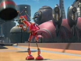 ROBOTS SCENE: CROSS-TOWN EXPRESS