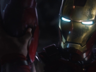 Marvels The Avengers Face Off