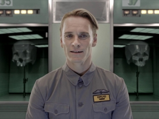 Prometheus: David (French)