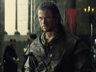 Snow White And The Huntsman: The Queen Questions The Huntsman In Her Throne Room