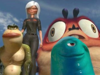 Monsters Vs Aliens Italian Trailer 7
