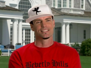 Thats My Boy Vanilla Ice On The Atmosphere On Set
