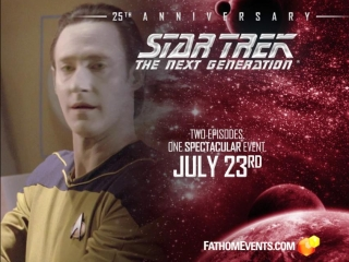 Star Trek The Next Generation 25th Anniversary Event