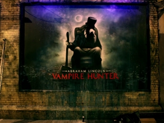 Abraham Lincoln Vampire Hunter Mural Uk