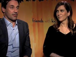 Friends With Kids Jon Hamm  Kristen Wiig Improvising On Set - Friends With Kids - Flixster Video