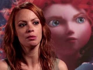 Brave: Voice Dubbing With Berenice Bejo