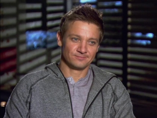 The Bourne Legacy Jeremy Renner On The Freezing Lake