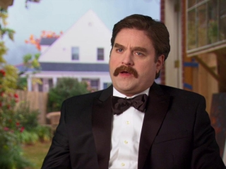 The Campaign Zach Galifianakis On His Character